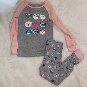 Kittens Pajama Set Size 4T